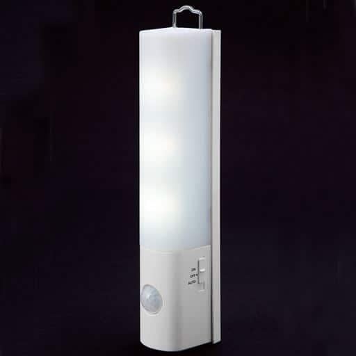 マグネット付LEDセンサーライト