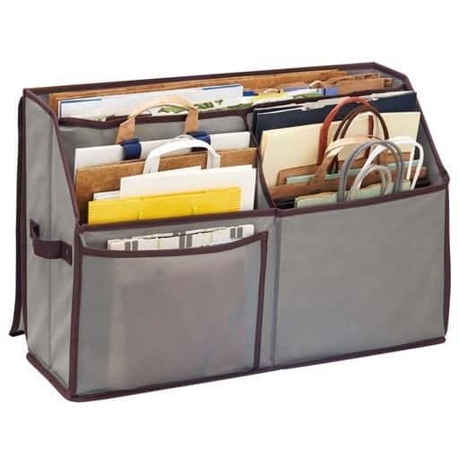 活性炭入り紙袋収納ボックス