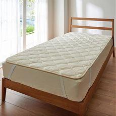 ベッドパッド(洗える羊毛100%)