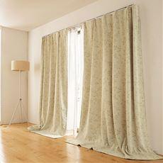 窓を包む保温・防炎1級遮光カーテン