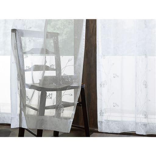 トルコ刺繍ボイルカーテン