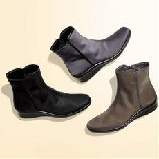 トップドライ ショートブーツ(TDY3929)/晴雨兼用ブーツ/日本製 蒸れにくい