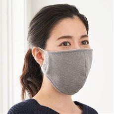 吸湿発熱立体大判マスク(2枚組)<美活計画>