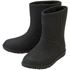 スエード調 晴雨兼用ブーツ(はっ水)