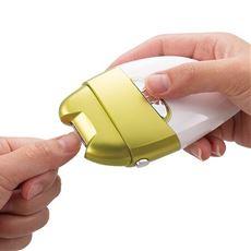 電動爪削りLeaf/足裏の角質ケアもできる