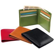 国産超薄型2つ折財布