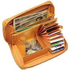 アイザック・バレンチノ オースト型押し機能財布