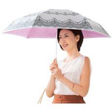 晴雨兼用折りたたみシルバーコート日傘