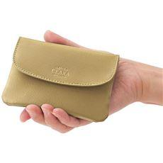 CLARA牛床革柔らか手のり財布