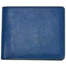 【キヌヤ インディゴ】 二つ折り財布