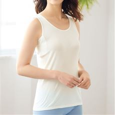 汗取りパッド付き綿100%ノースリーブインナー(スマートドライ®)/さらっと気持ちいい吸汗速乾