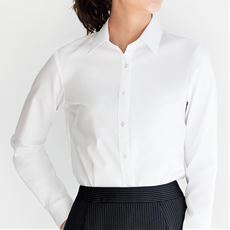 綿100%形態安定シャツ(乾燥機OK・ノーアイロン)