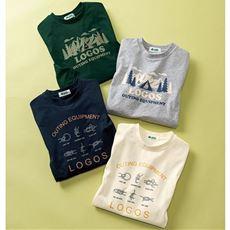 綿タッチドライTシャツ (ロゴス)
