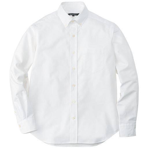 上質仕立てのオックスフォードシャツ(長袖)