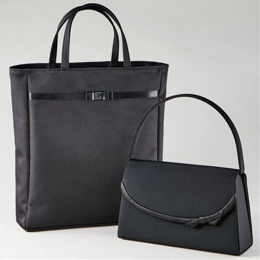 【ぽっちゃりさんサイズ】フォーマルバッグ(3点セット) サブバッグ、袱紗付き