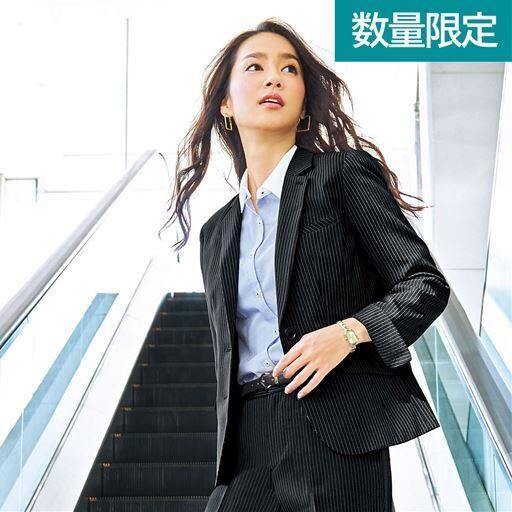 オフィステーラードジャケット(事務服・洗濯機OK・撥水・形態安定・防汚加工・ストレッチ素材)