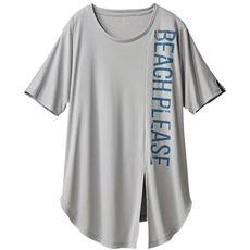 裾リボンTシャツ(BODY GLOVE)(吸汗速乾・UVカット)(ヨガ)