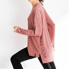 長袖Tシャツ(BODY GLOVE)(吸汗速乾・UVカット)(ヨガ)