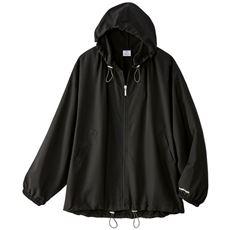 【ぽっちゃりさんサイズ】ギャザーパーカージャケット(HEAD)(はっ水・収納袋付き)