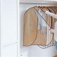除湿・消臭衣類収納カバー/衣類用・ハンガー用(2枚組)・布団用
