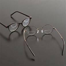 眼鏡に貼るレンズシール/繰り返し使える
