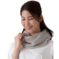 ふんわり綿麻UVネックカバー(日本製)/マスクとしても使える
