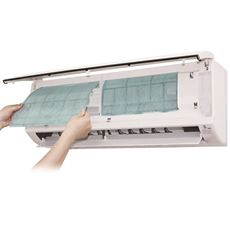 高機能性フィルター99/8枚 エアコン内の網状フィルターに貼るだけ 日本製