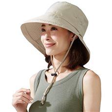 飛ばされにくいサファリ帽子/UVカット