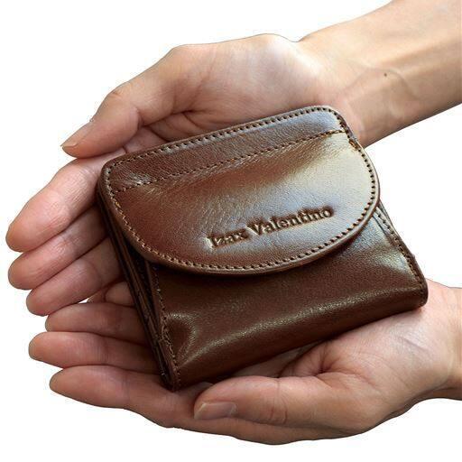 イタリアンレザーコンパクト財布/アイザック・バレンチノ