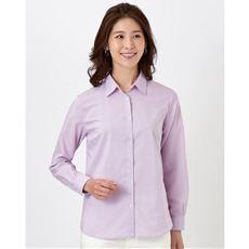 綿混ストレッチベーシックシャツ