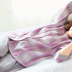 ダブルガーゼの巣ごもりゆったりパジャマ(綿100%)