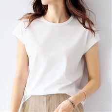 キレイが続くTシャツ(綿100%)
