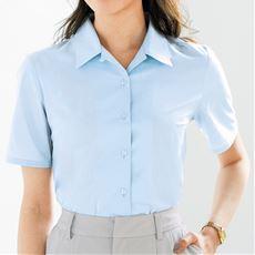 形態安定ハマカラーシャツ(半袖)(UVカット・抗菌防臭・洗濯機OK・部屋干しOK)