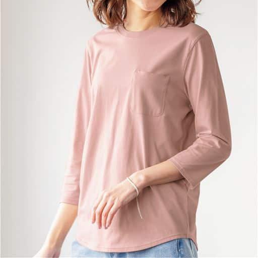 ポケット付きTシャツ(綿100%・S~6L・洗濯機OK)