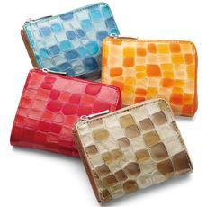 ステンドグラスレザー財布