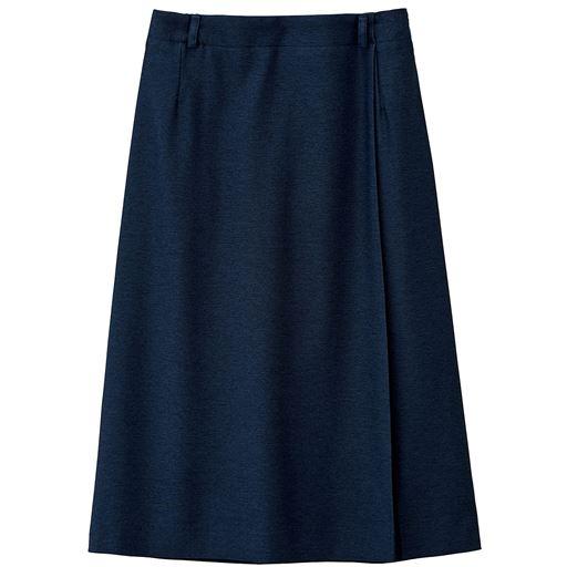 【ぽっちゃりさんサイズ】ラップ風スカート(UVカット・接触冷感・防シワ)