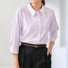 【ぽっちゃりさんサイズ】カットソーシャツ(7分袖)(UVカット・抗菌防臭・吸汗速乾) グラマーさん用サイズ有(胸のサイズで選べる)