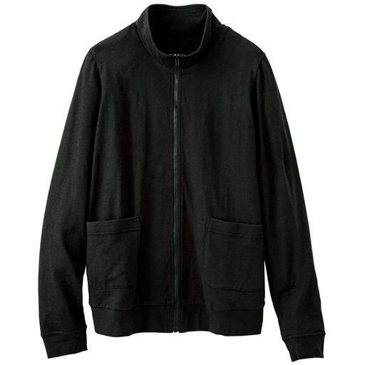 【ぽっちゃりさんサイズ】UVカットスラブジップアップジャケット(綿100%)