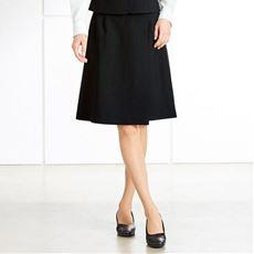 キュロットスカート(温度調整機能裏地付き)(事務服・洗濯機OK)(防汚加工・撥水)/裾さばき軽々