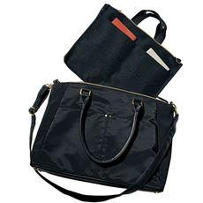 通勤多機能バッグ(ショルダーベルト・インナーバッグ付き・A4対応)