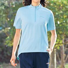 ハーフジップTシャツ(kaepa)(UVカット・吸汗速乾)