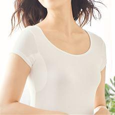 汗取りパッド付きフレンチ袖インナー(スマートドライ®BASICシリーズ)/ 吸汗速乾