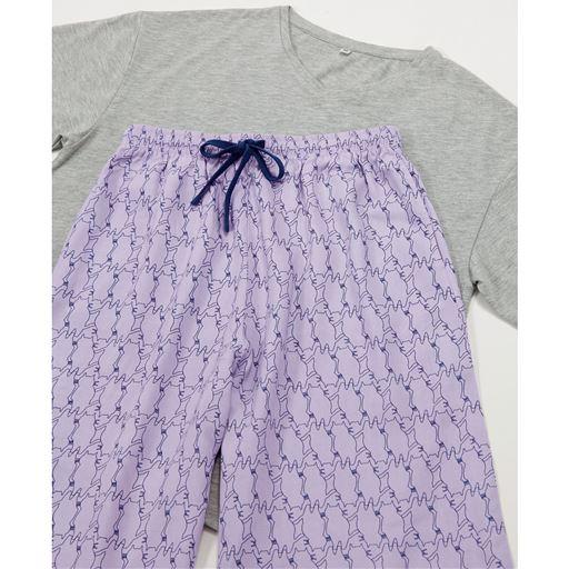 2点セット(Tシャツ+リラックスパンツ)