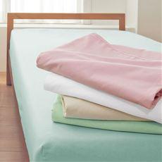 平織りシーツ(綿100%)/洗濯に強い丈夫な生地
