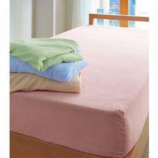 シーツ(ほつれにくいマイヤータオル)/綿100%(パイル部) フラット・フィット・ボックスタイプ