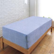 のびのびタオルシーツ(厚さ対応 着脱簡単)/敷き布団にも使える ボックスシーツ