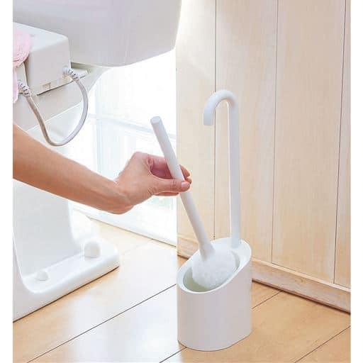 清潔収納トイレブラシ