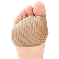 綿混サラリ 洗える足まめパッド(1足)