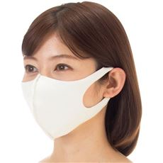 抗菌抗ウィルス加工マスク同色4枚組