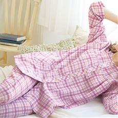 綿100%パジャマ(爽やか楊柳素材)